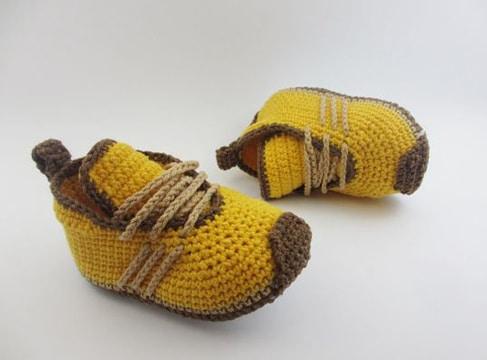 zapatos tejidos para bebe varon deportivos
