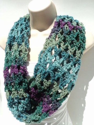 bufandas de lana hechas a mano ideas