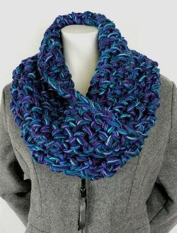 bufandas de lana hechas a mano para hombres