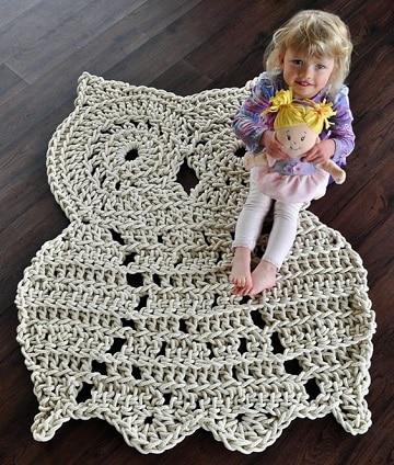 buhos en crochet patrones ideas