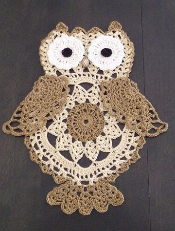 buhos en crochet patrones originales