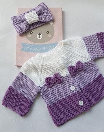 chaquetitas de bebe paso a paso para niños 1
