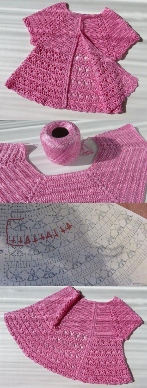 chaquetitas de bebe paso a paso patrones
