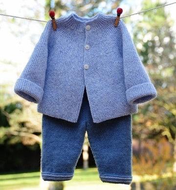 chompas de lana para niños de 2 años