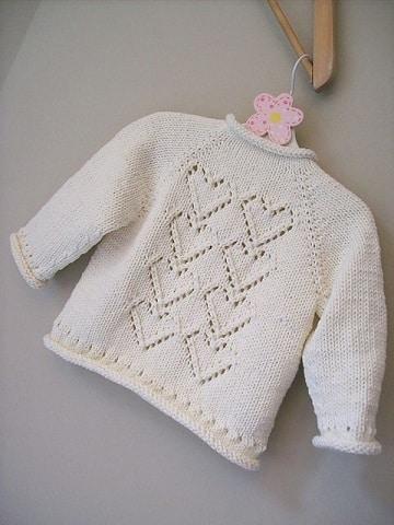 chompas para bebes tejidas a palitos ideas