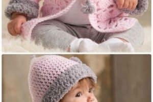 Las chompas tejidas para bebes felices y bien abrigados