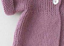 Actualizate con estos diseños de chompas tejidas para niñas
