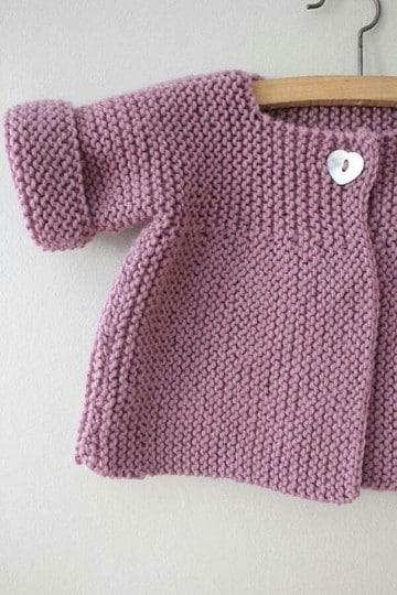 chompas tejidas para niñas ideas