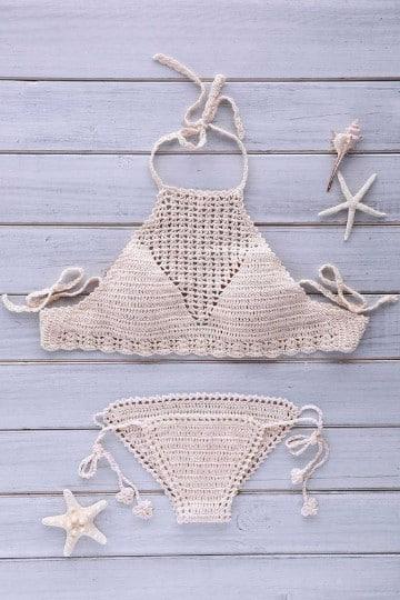 como hacer bikinis a crochet ideas