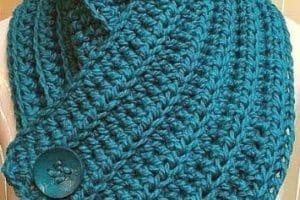 Mira como hacer bufandas en crochet para mujeres modernas