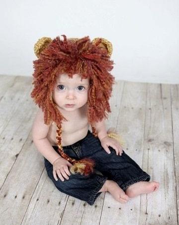 como hacer disfraces para bebes crochet