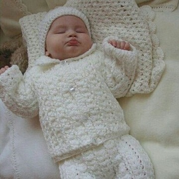 conjuntos tejidos para bebes recien nacidos ideas