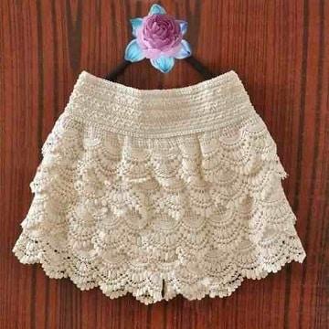 faldas tejidas para niña paso a paso ideas