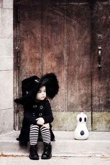 imagenes de disfraz de bruja para niña diseños