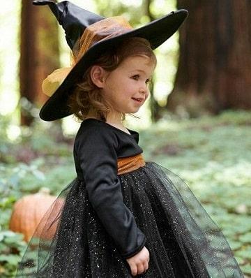 imagenes de disfraz de bruja para niña ideas