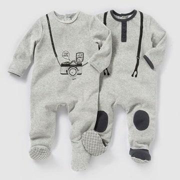 pijamas para bebes recien nacidos ideas