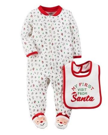 pijamas para bebes recien nacidos navidad