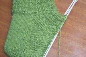 Aprende ya a tejer calcetines dos agujas rectas sencillos