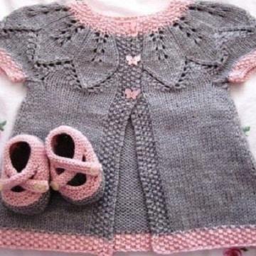 tejidos para bebes recien nacidos niña