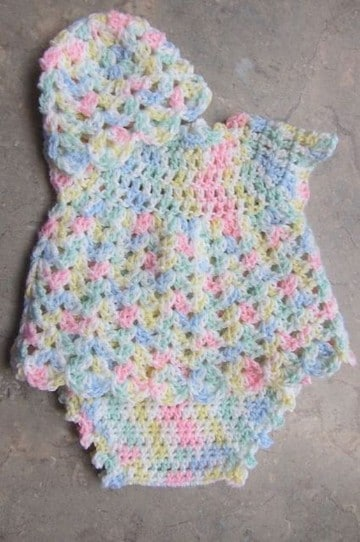 trajecitos tejidos para bebe niña