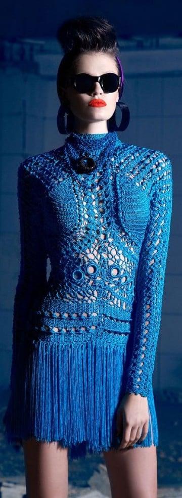vestidos largos azul marino de encaje