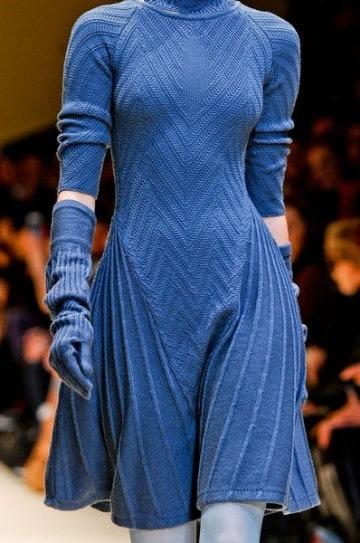 vestidos largos azul marino de noche