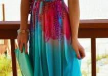 Los vestidos largos playeros de moda para tus vacaciones