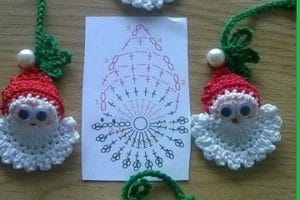 Los adornos navideños a crochet paso a paso hacen diferencia