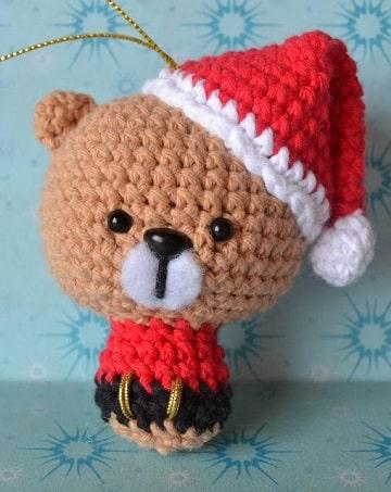 adornos navideños a crochet paso a paso para colgar