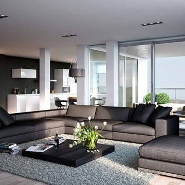 alfombras modernas para salon casa