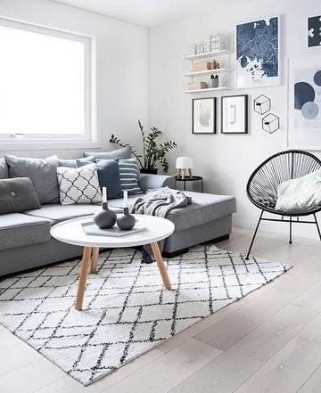 Las alfombras modernas para salon con estilo vanguardista - Alfombras de salon modernas ...