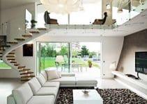 Las alfombras modernas para salon con estilo vanguardista