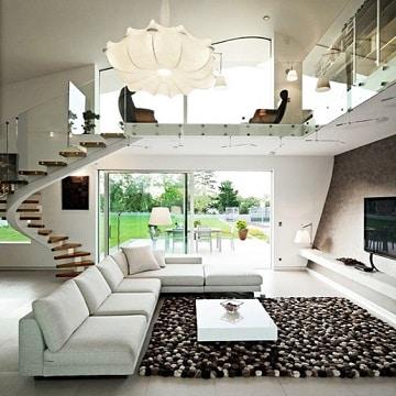 alfombras modernas para salon habitacion
