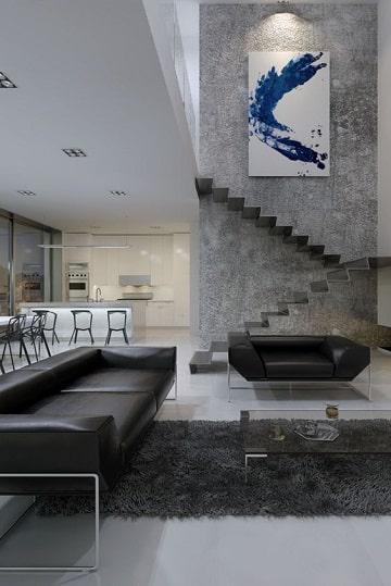 Las alfombras modernas para salon con estilo vanguardista - Alfombras de salon ...