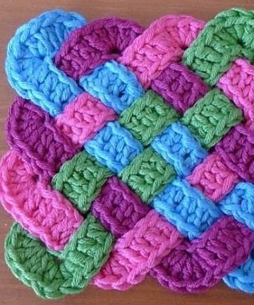 aprender a tejer bufandas coloridas
