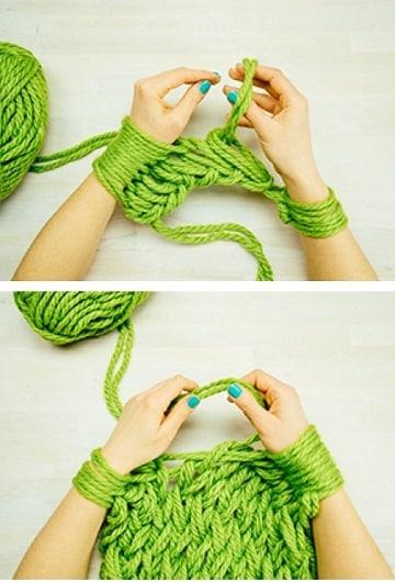 aprender a tejer bufandas paso a paso