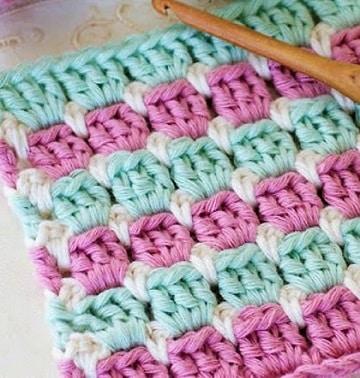 aprender a tejer bufandas puntadas