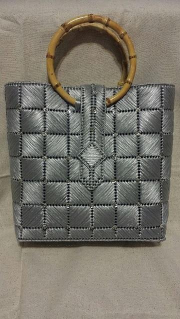 bolsas de rafia hechas a mano elegante