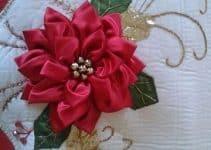 Los bordados en cinta navideños para adornar cada espacio