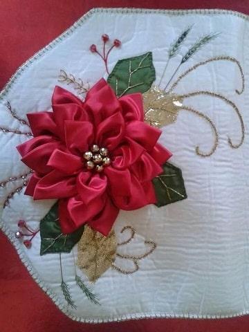 bordados en cinta navideños pascuas