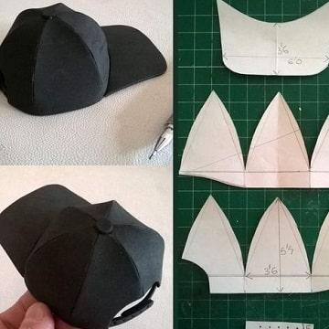 como hacer una gorra para perro patrones