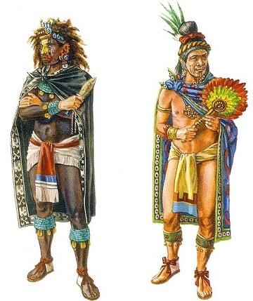 como se vestian los incas diseños