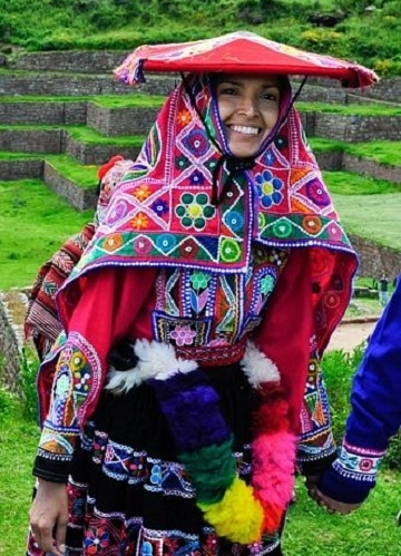 como se vestian los incas mujeres