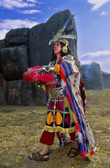 como se vestian los incas reyes