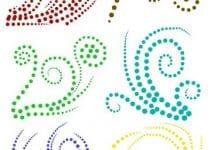 Decora tus proyectos con dibujos para bordar en pedreria