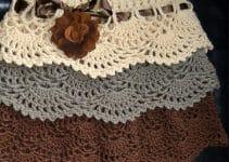 Polleras y faldas tejidas a crochet para niña a la moda
