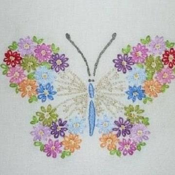 imagenes de servilletas bordadas para niñas