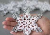 Adornos y manualidades tejidos a crochet para navidad