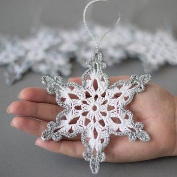 manualidades tejidos a crochet para navidad adornos para el arbol