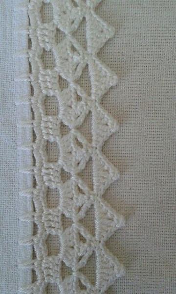 ondas para servilletas patrones